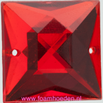 20x20mm - Rood